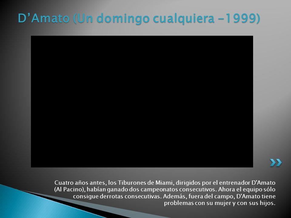 D'Amato (Un domingo cualquiera -1999)