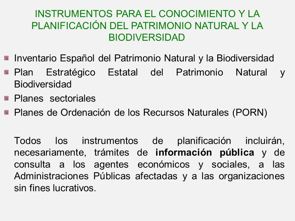 Inventario Español del Patrimonio Natural y la Biodiversidad