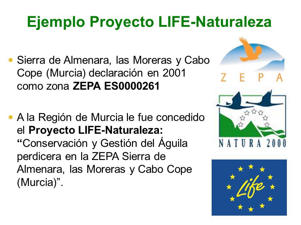 Ejemplo Proyecto LIFE-Naturaleza