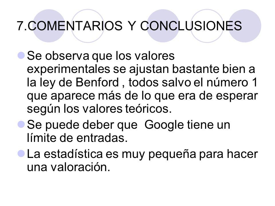 7.COMENTARIOS Y CONCLUSIONES