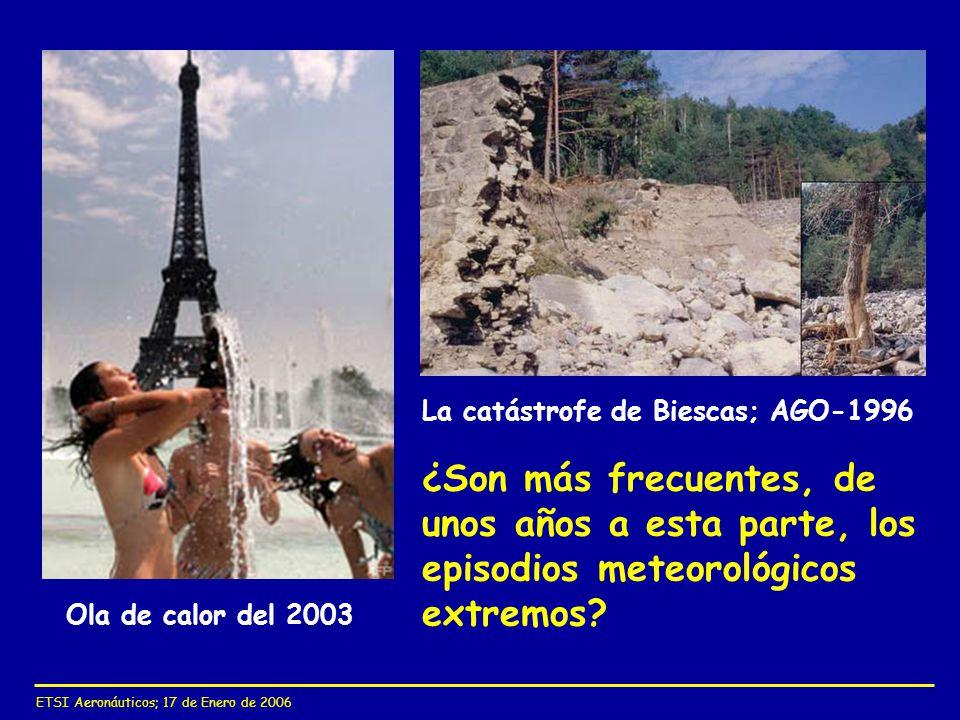 La catástrofe de Biescas; AGO-1996