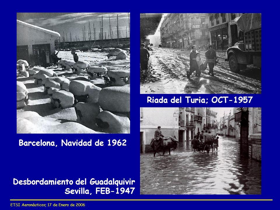 Desbordamiento del Guadalquivir Sevilla, FEB-1947