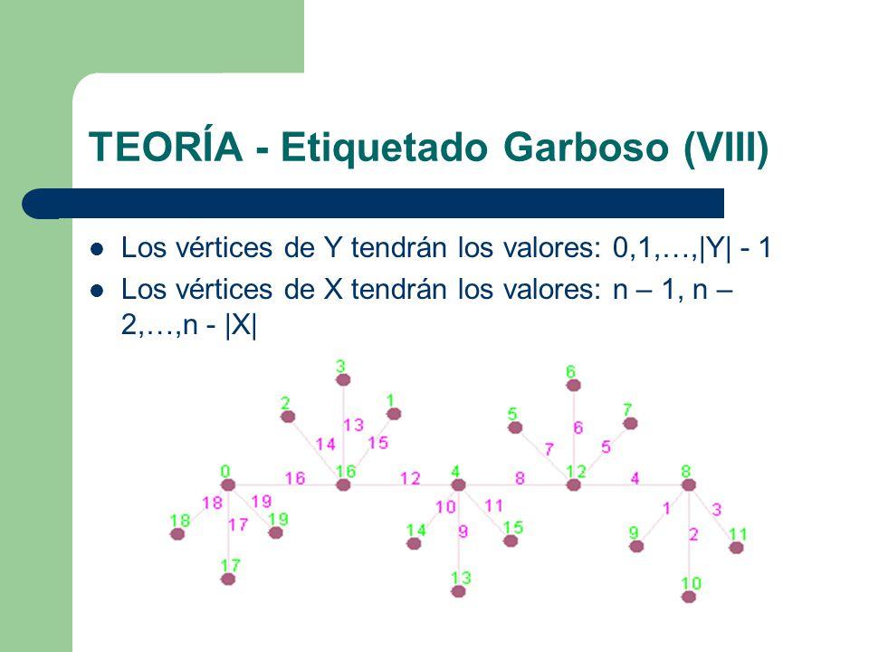 TEORÍA - Etiquetado Garboso (VIII)