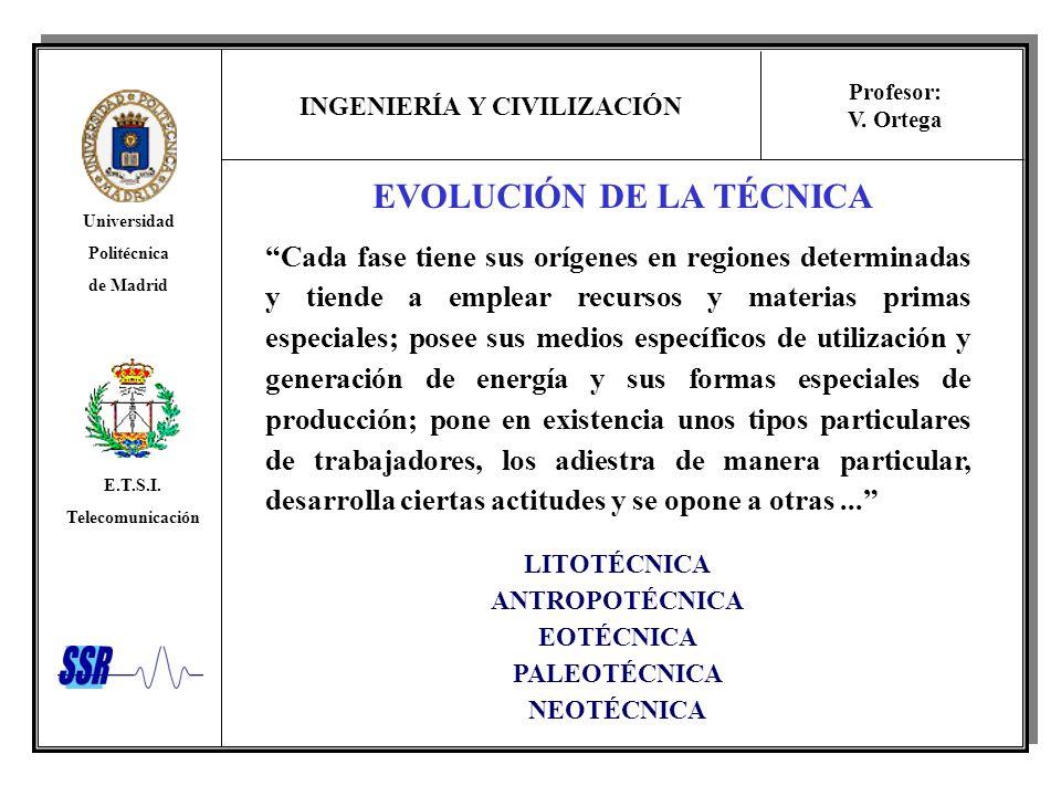 EVOLUCIÓN DE LA TÉCNICA
