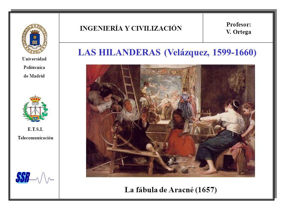 LAS HILANDERAS (Velázquez, 1599-1660)