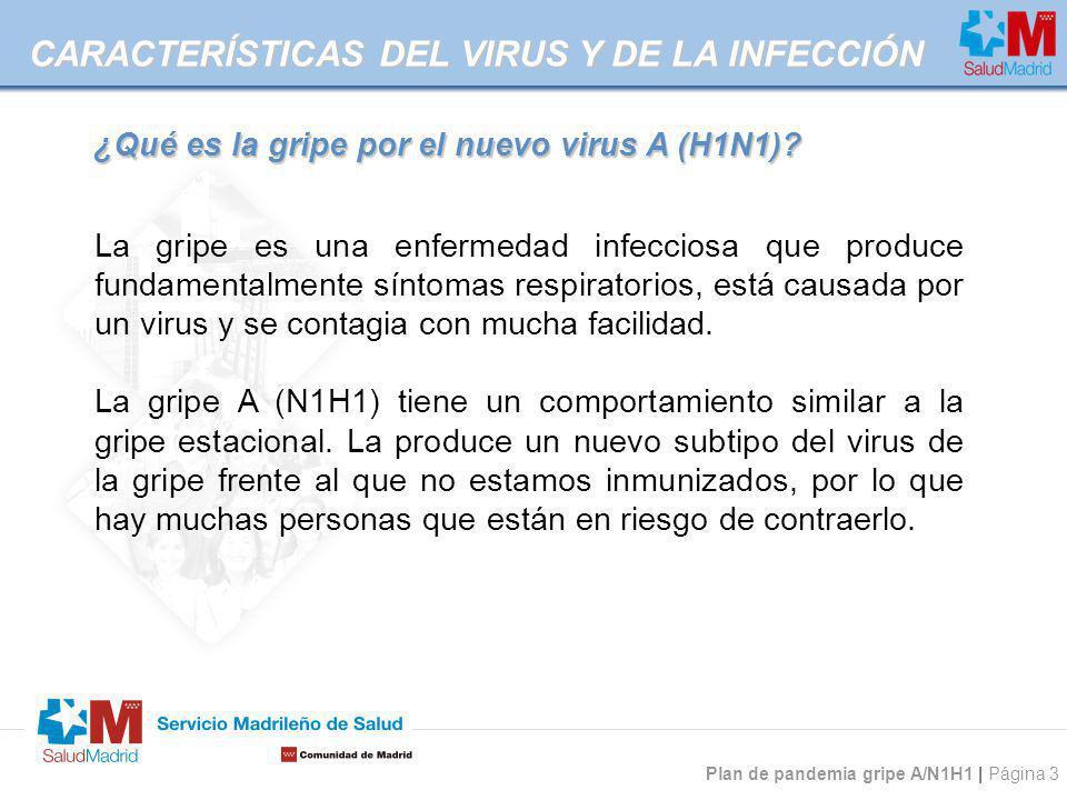 CARACTERÍSTICAS DEL VIRUS Y DE LA INFECCIÓN