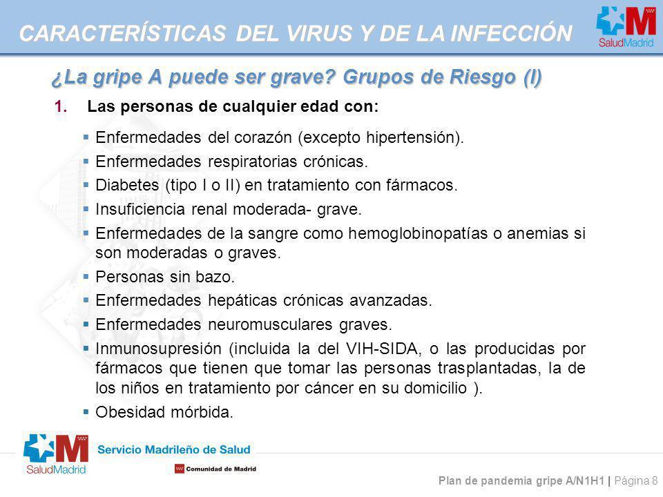 ¿La gripe A puede ser grave Grupos de Riesgo (I)