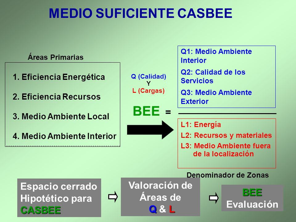 MEDIO SUFICIENTE CASBEE