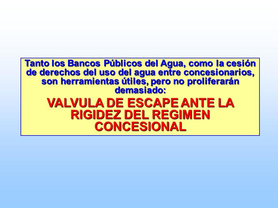 VALVULA DE ESCAPE ANTE LA RIGIDEZ DEL REGIMEN CONCESIONAL