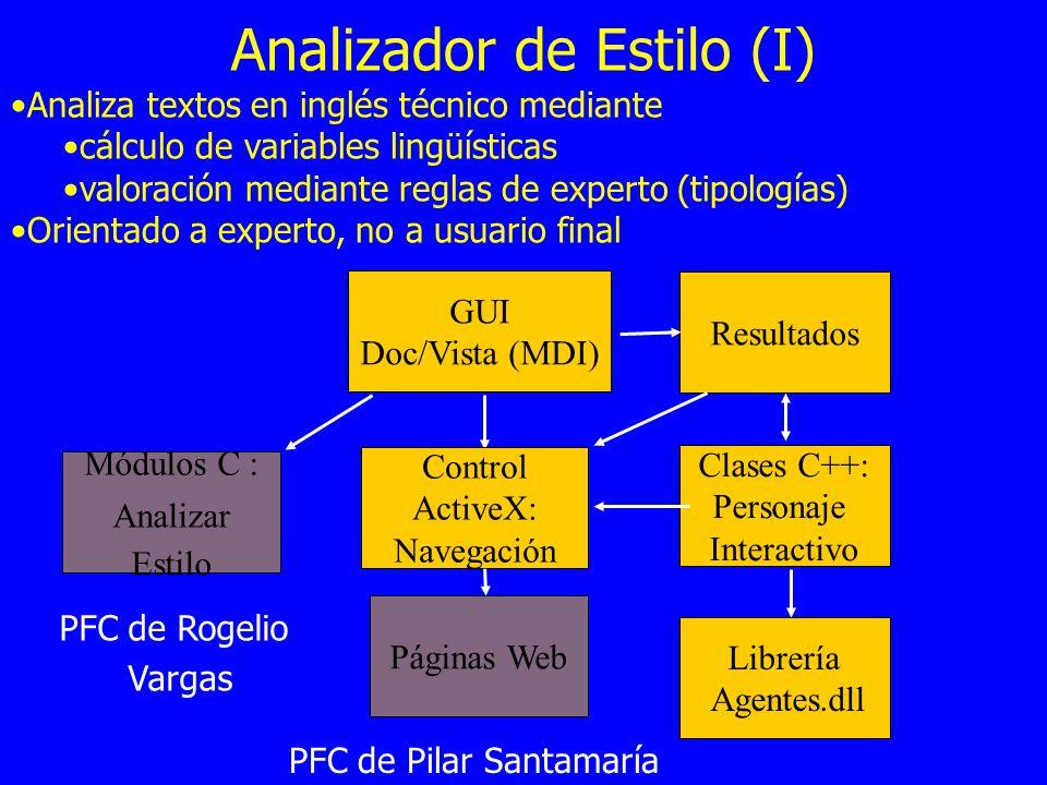 Analizador de Estilo (I)