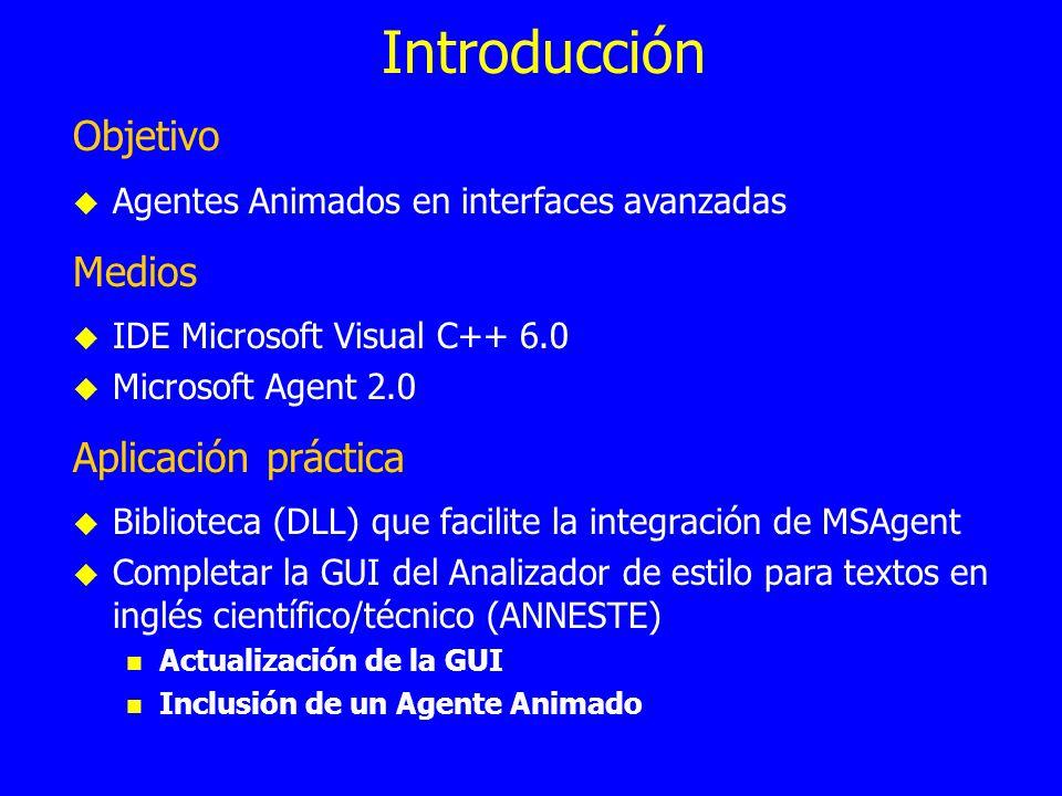 Introducción Objetivo Medios Aplicación práctica
