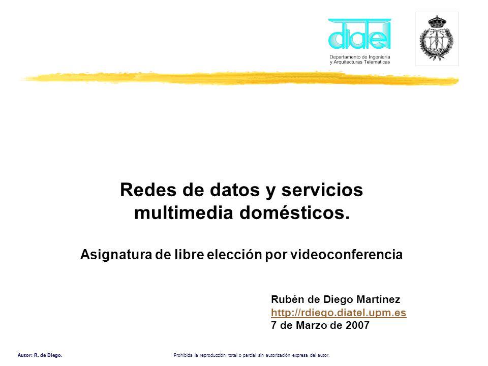 Redes de datos y servicios multimedia domésticos