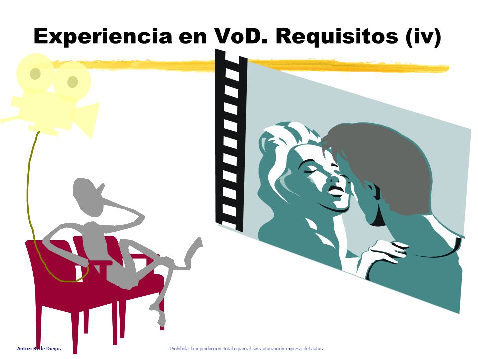 Experiencia en VoD. Requisitos (iv)