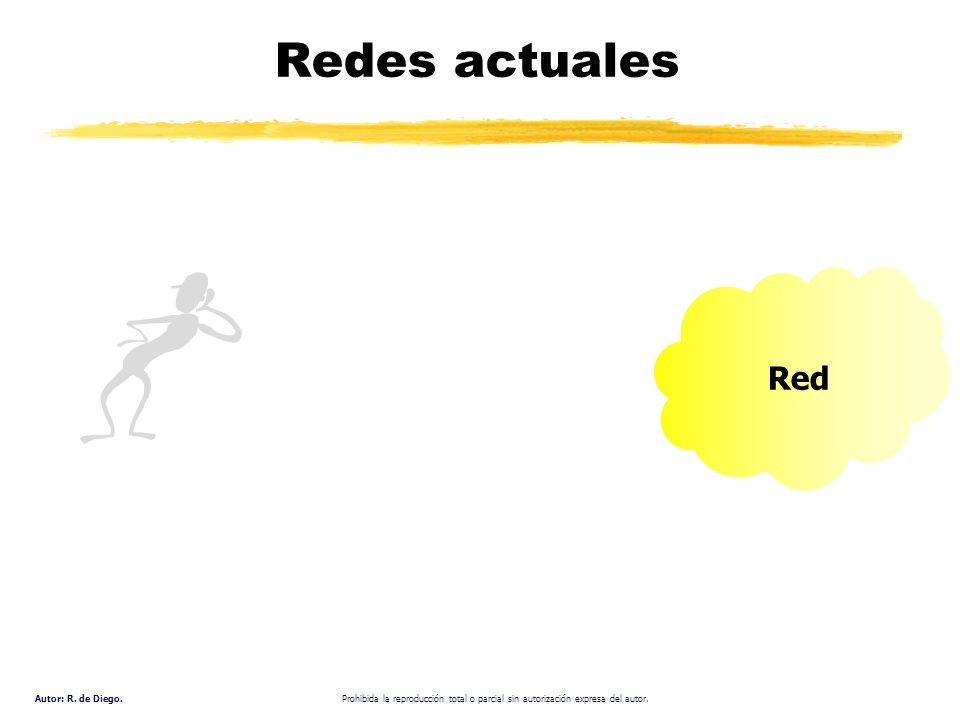 Redes actuales Red