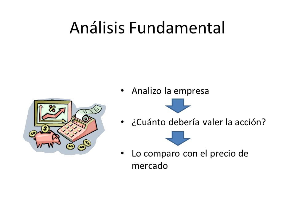 Análisis Fundamental Analizo la empresa