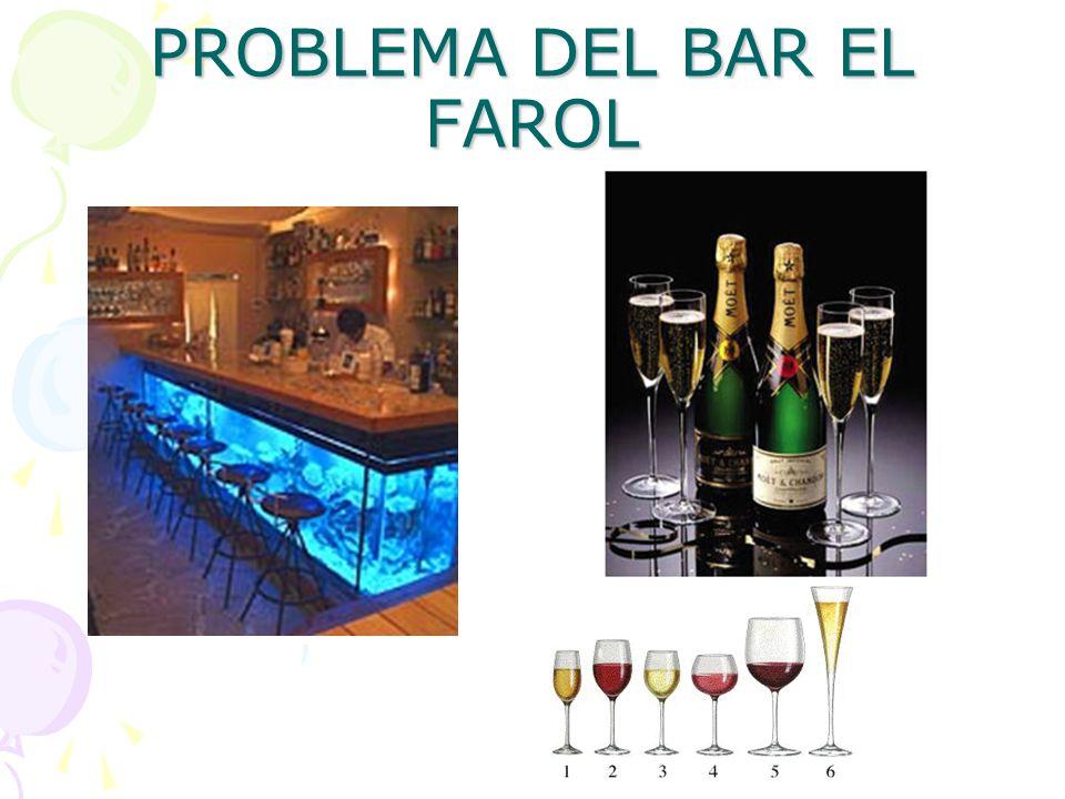 PROBLEMA DEL BAR EL FAROL