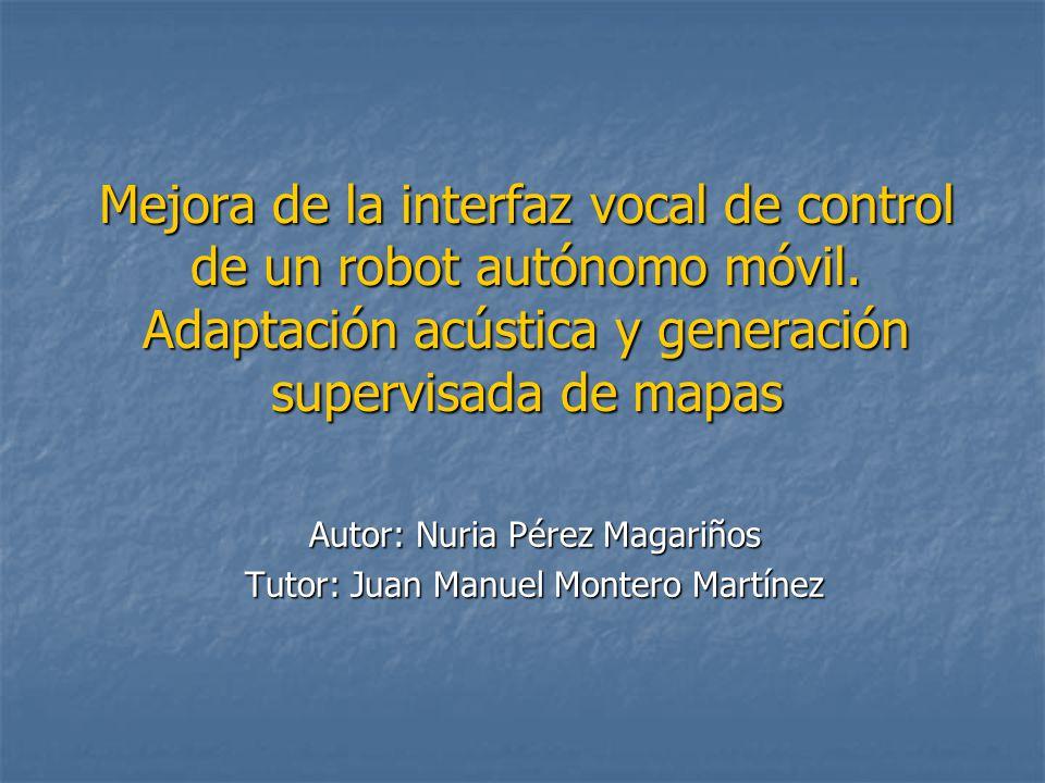 Autor: Nuria Pérez Magariños Tutor: Juan Manuel Montero Martínez