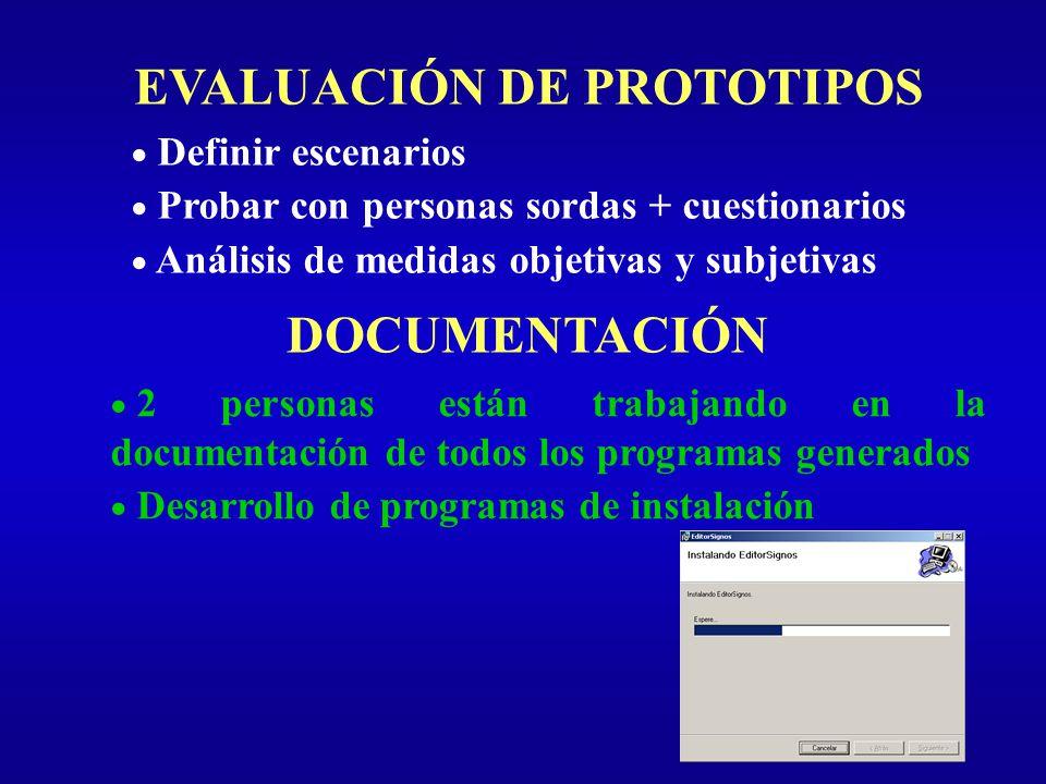EVALUACIÓN DE PROTOTIPOS