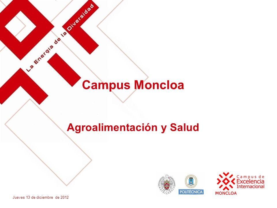 Campus Moncloa Agroalimentación y Salud