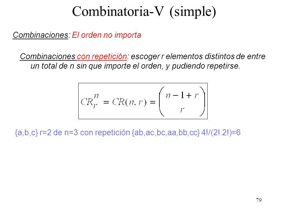 Combinatoria-V (simple)