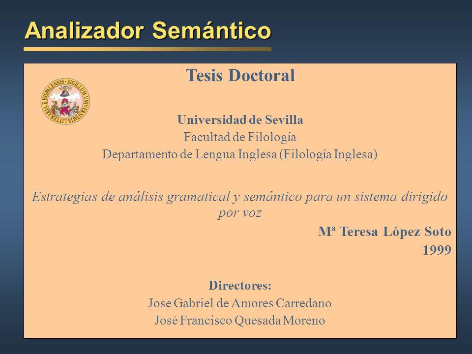 Analizador Semántico Tesis Doctoral