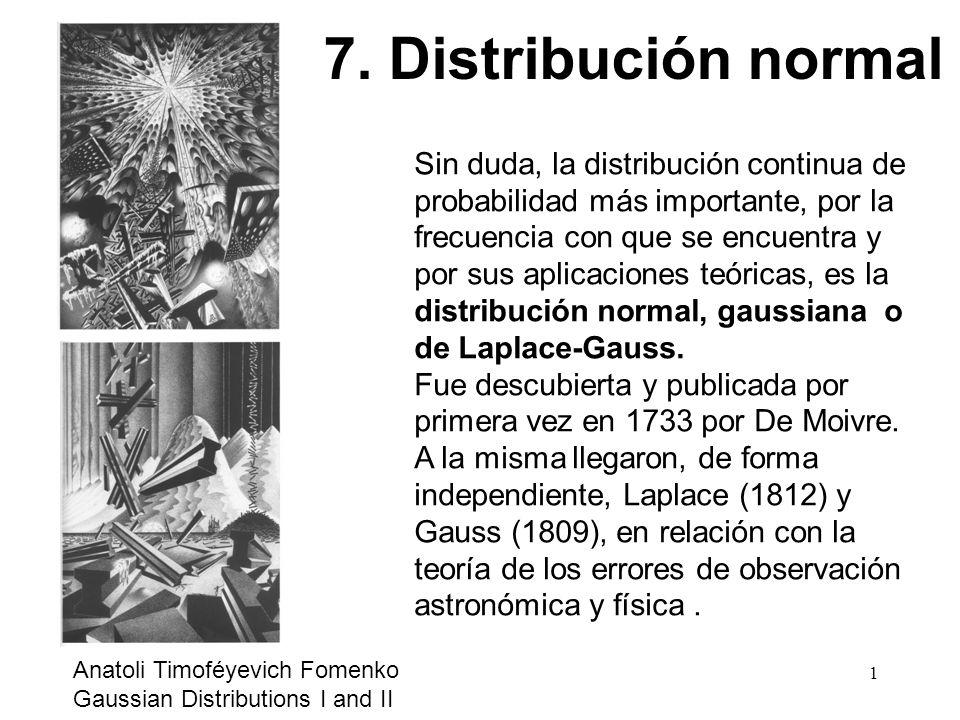 7. Distribución normal