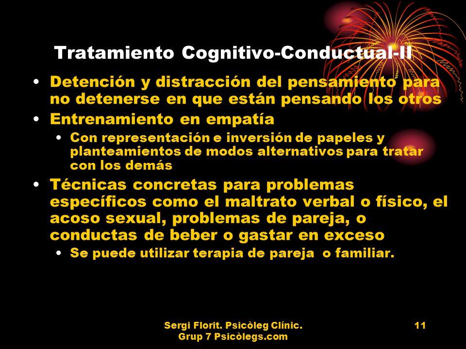 Tratamiento Cognitivo-Conductual-II