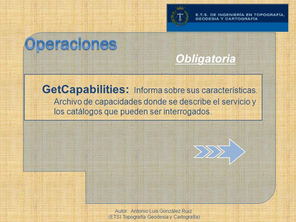 Operaciones Obligatoria