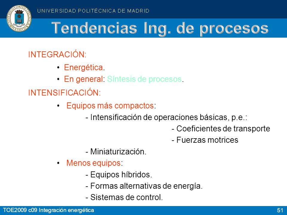 Tendencias Ing. de procesos