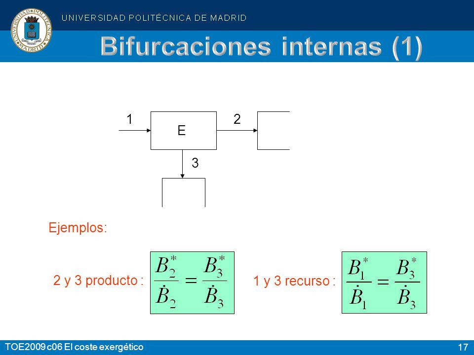 Bifurcaciones internas (1)