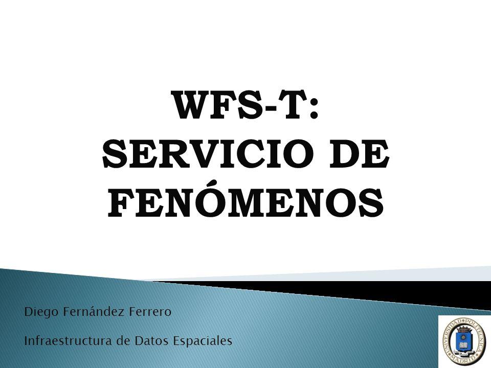 WFS-T: SERVICIO DE FENÓMENOS