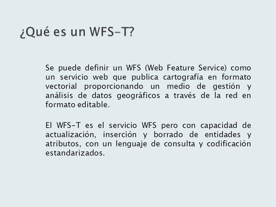 ¿Qué es un WFS-T