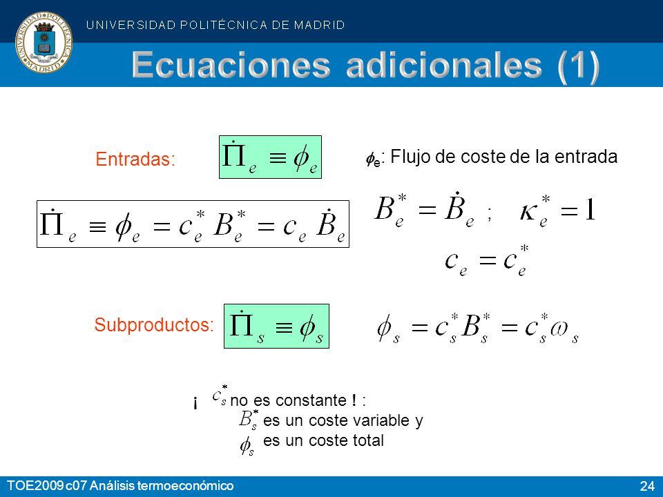Ecuaciones adicionales (1)