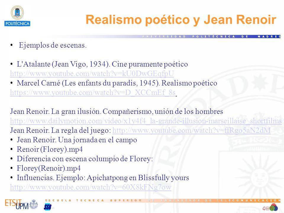 Realismo poético y Jean Renoir