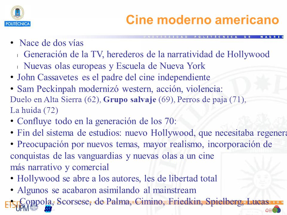 Cine moderno americano