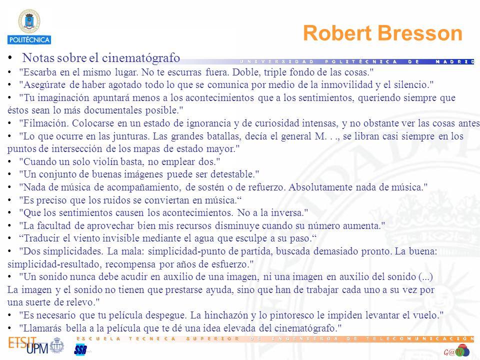 Robert Bresson Notas sobre el cinematógrafo 29