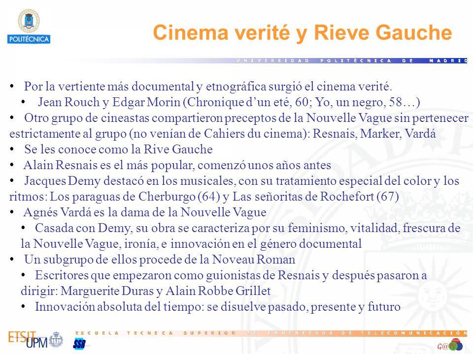 Cinema verité y Rieve Gauche