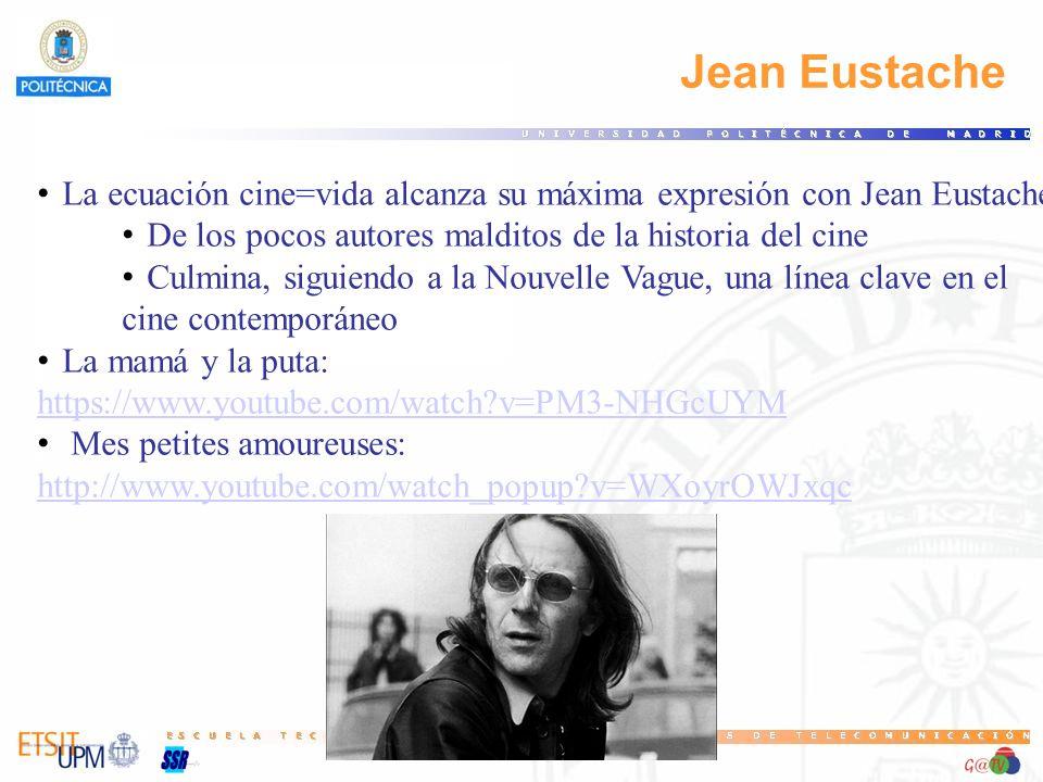 78 Jean Eustache. La ecuación cine=vida alcanza su máxima expresión con Jean Eustache. De los pocos autores malditos de la historia del cine.