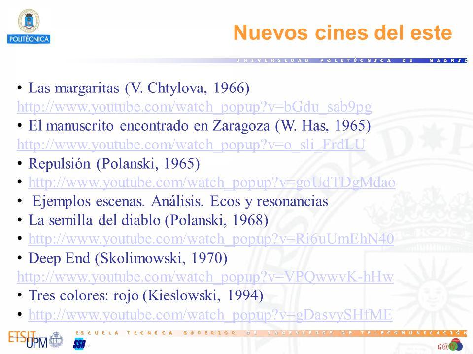 Nuevos cines del este Las margaritas (V. Chtylova, 1966)