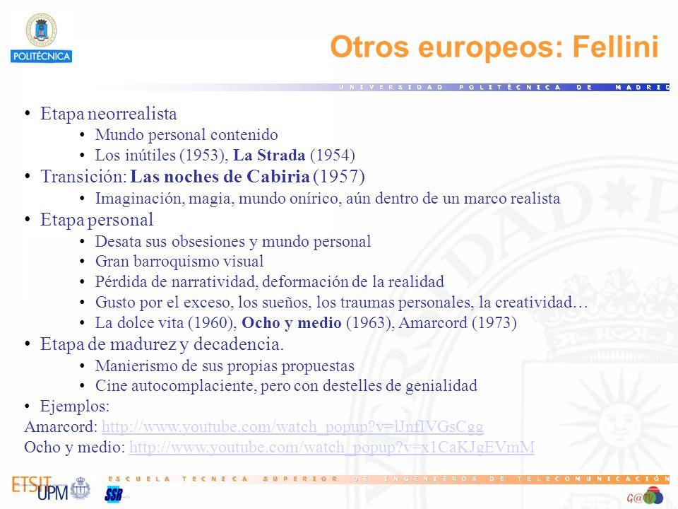 Otros europeos: Fellini