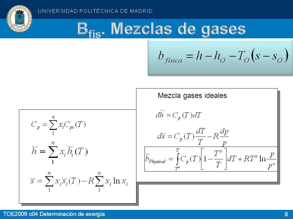 Bfis. Mezclas de gases Mezcla gases ideales Slide Comments: