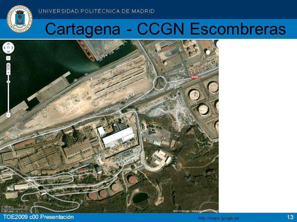Cartagena - CCGN Escombreras