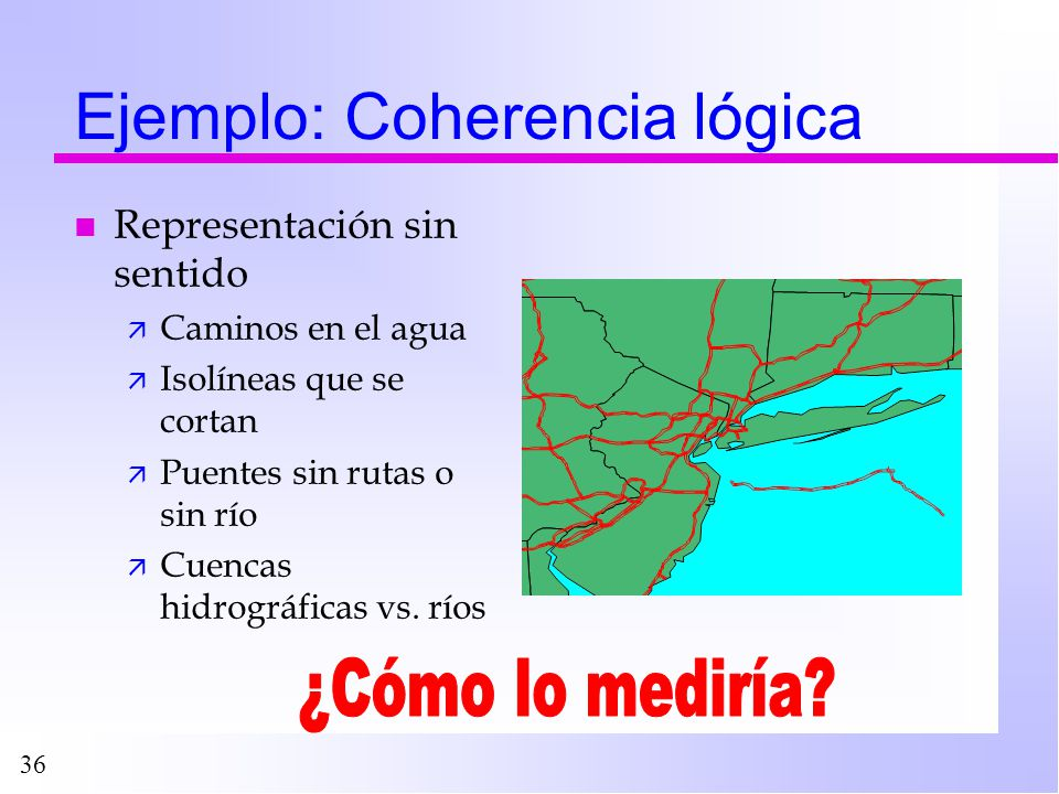 Ejemplo: Coherencia lógica