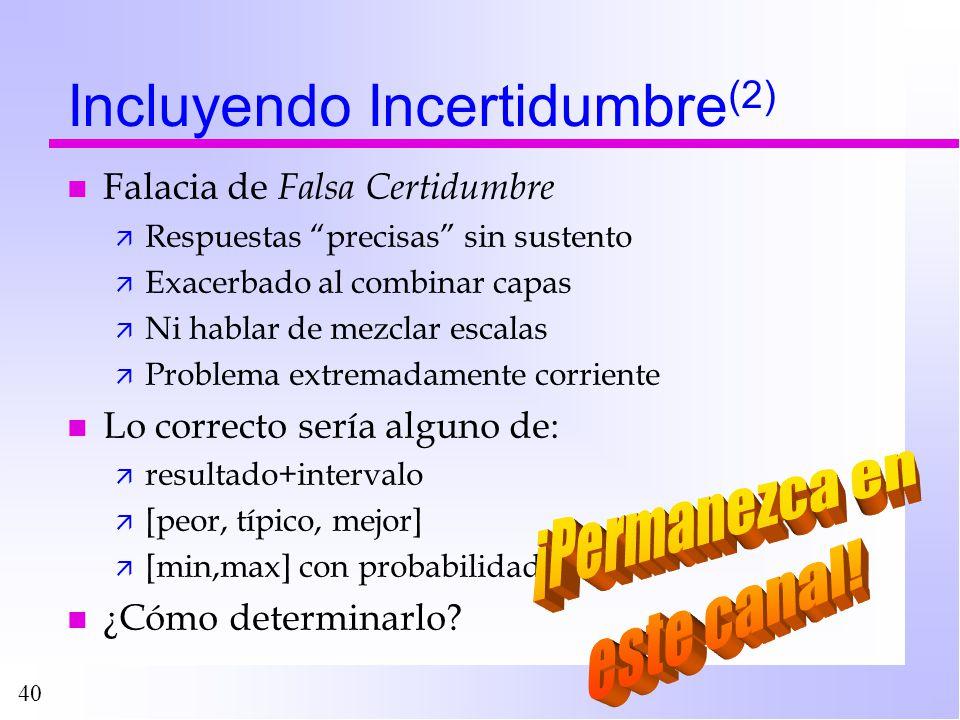 Incluyendo Incertidumbre(2)
