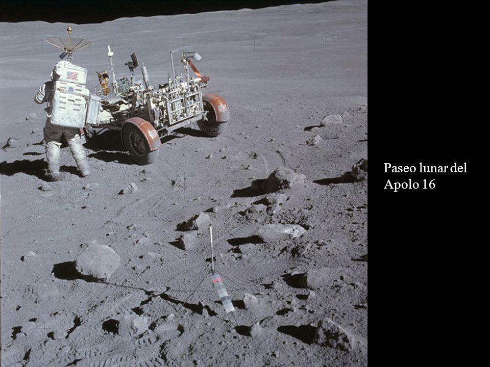 Paseo lunar del Apolo 16