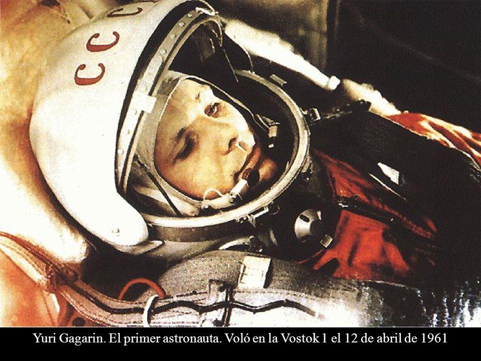 Yuri Gagarin. El primer astronauta