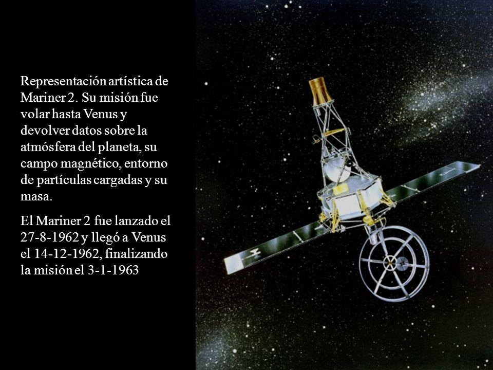 Representación artística de Mariner 2