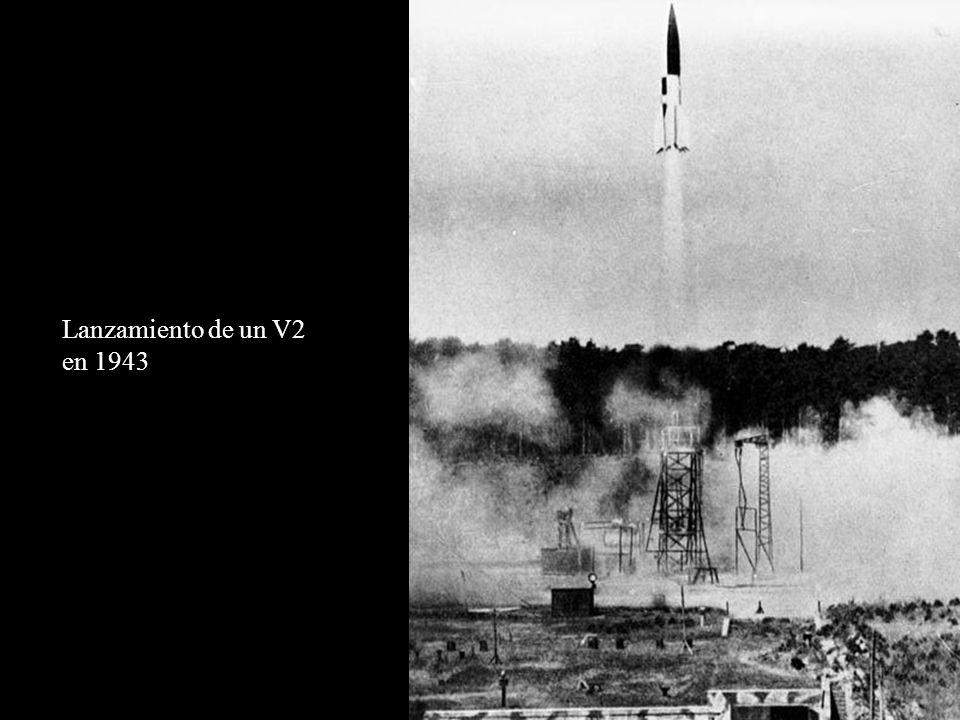Lanzamiento de un V2 en 1943