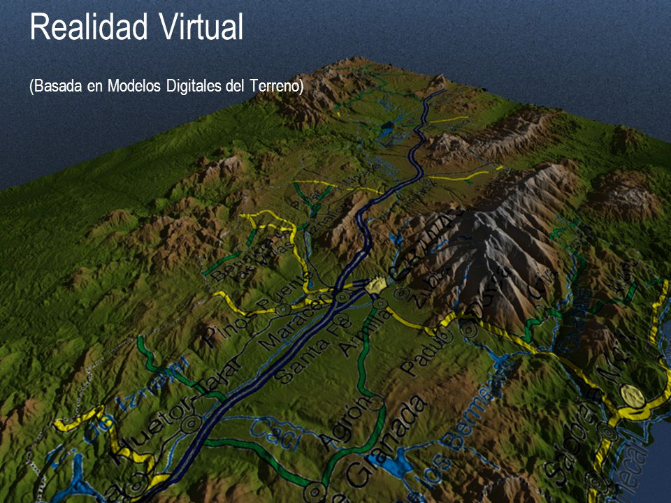 Realidad Virtual (Basada en Modelos Digitales del Terreno)