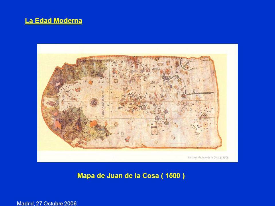 Mapa de Juan de la Cosa ( 1500 )